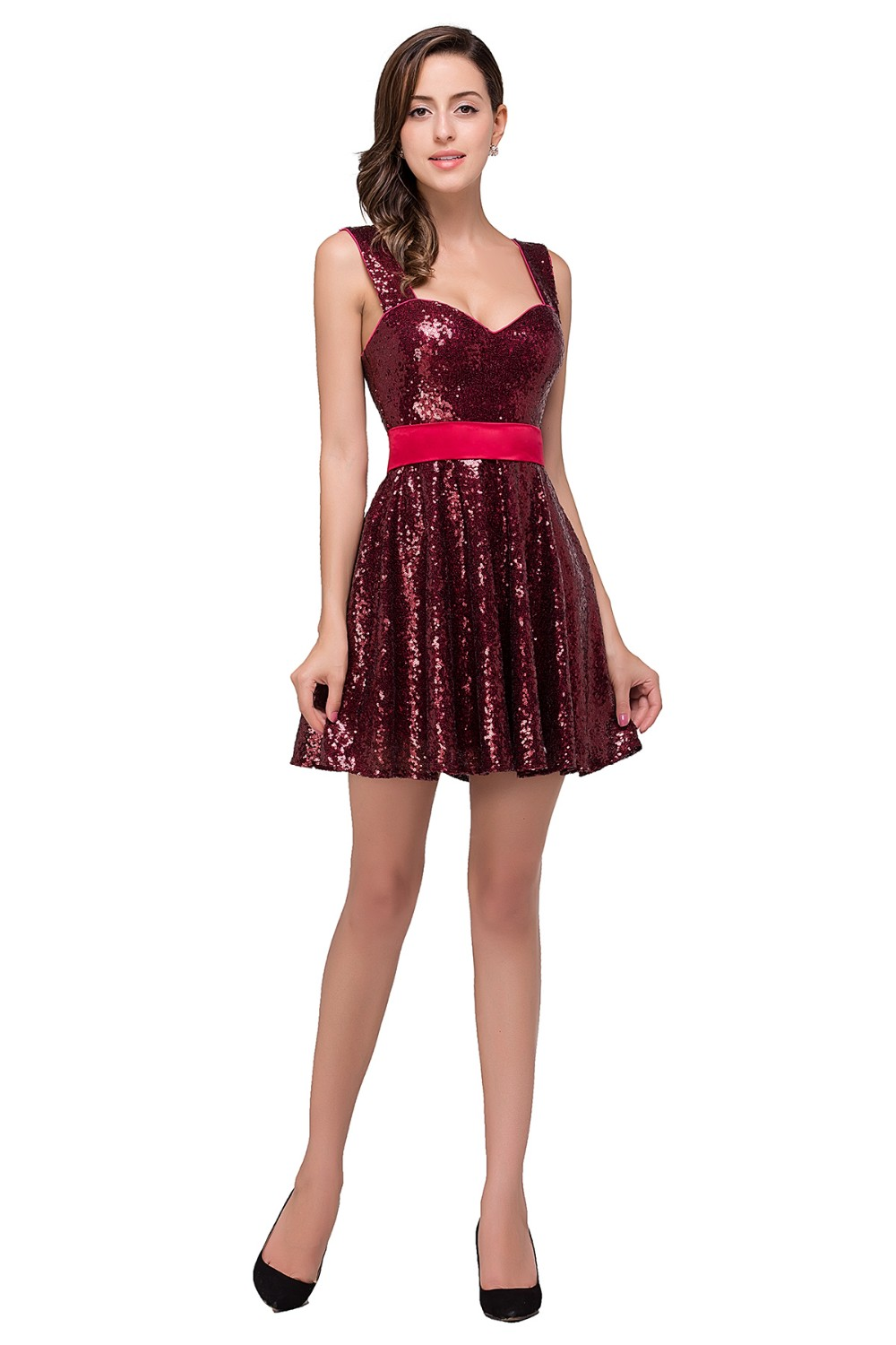 Look - Dresses homecoming with straps short video