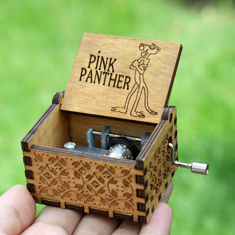 2018 Hot Harry Potter Pinks Panther Music Box Game Of Thrones Star Wars Sleep Lion TwinkleStar Birthday Present