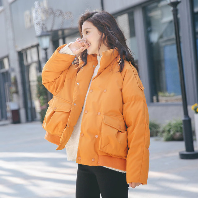 Female Jacket BF Style Thick Short Bread Winter Coat Women Manteau Femme Hiver Cotton Padded Winter Jacket Warm Outerwear C5137 1