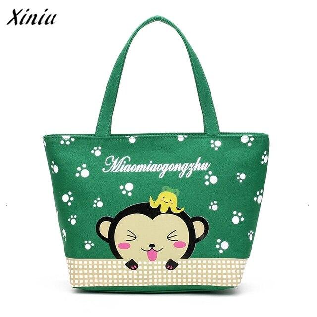 bags handbags women famous brands Women Fashion Monkey Handbag Shoulder Bag  Large Tote Ladies Purse bolsa feminina 647981a6d6