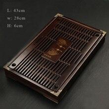 SIBAOLU Chinesischen Tee-tablett Massivholz Kung Fu Tee-Set Entwässerung wasser Schublade Tee Zimmer Bord Teetisch Zimmer Zeremonie Werkzeuge