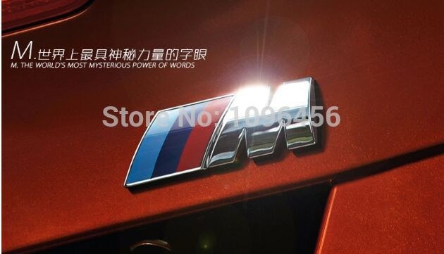 NEW M power Series Logo Sticker Emblem Badge Chrom 1 <font><b>3</b></font> <font><b>4</b></font> 5 6 <font><b>7</b></font> E Z <font><b>X</b></font> M3 M5 M6 Mline for BMW M