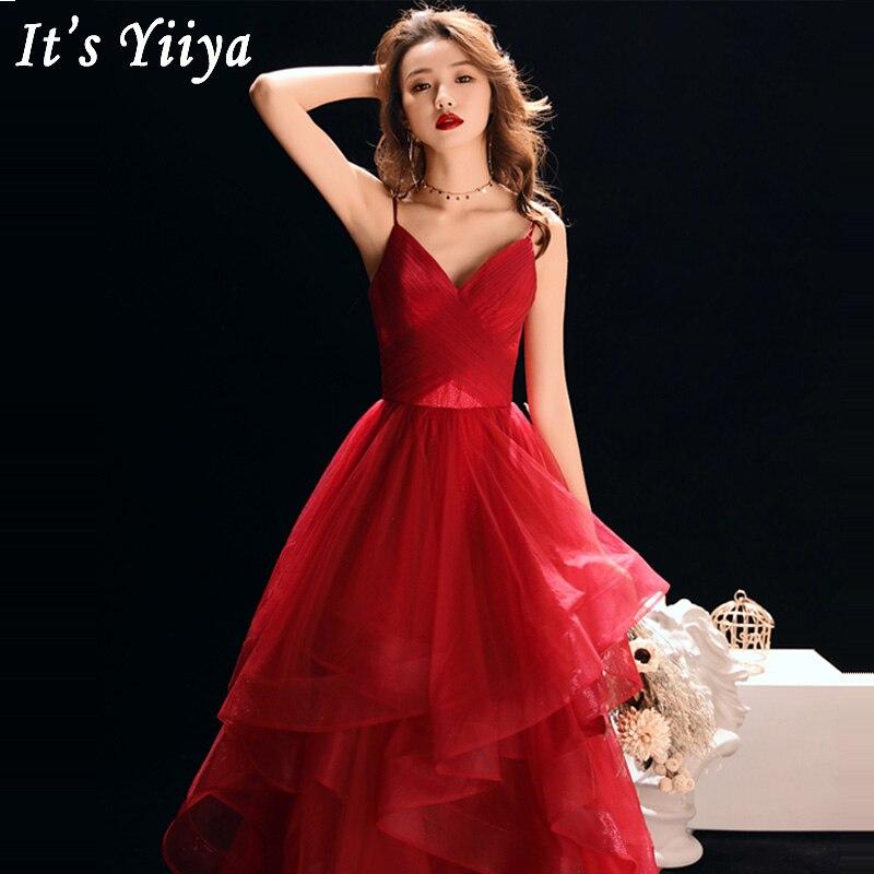 Evening     Dresses   Sexy Backless 2019 Sleeveless Prom   Dress   Long Plus Size Women Party   Dresses   V-neck Sling Robe De Soiree E529