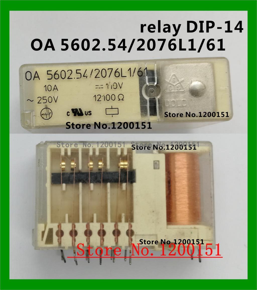 OA 5602.54/2076L1/61 0A 5602.54/2076L1/61 110VDC relais DIP-14