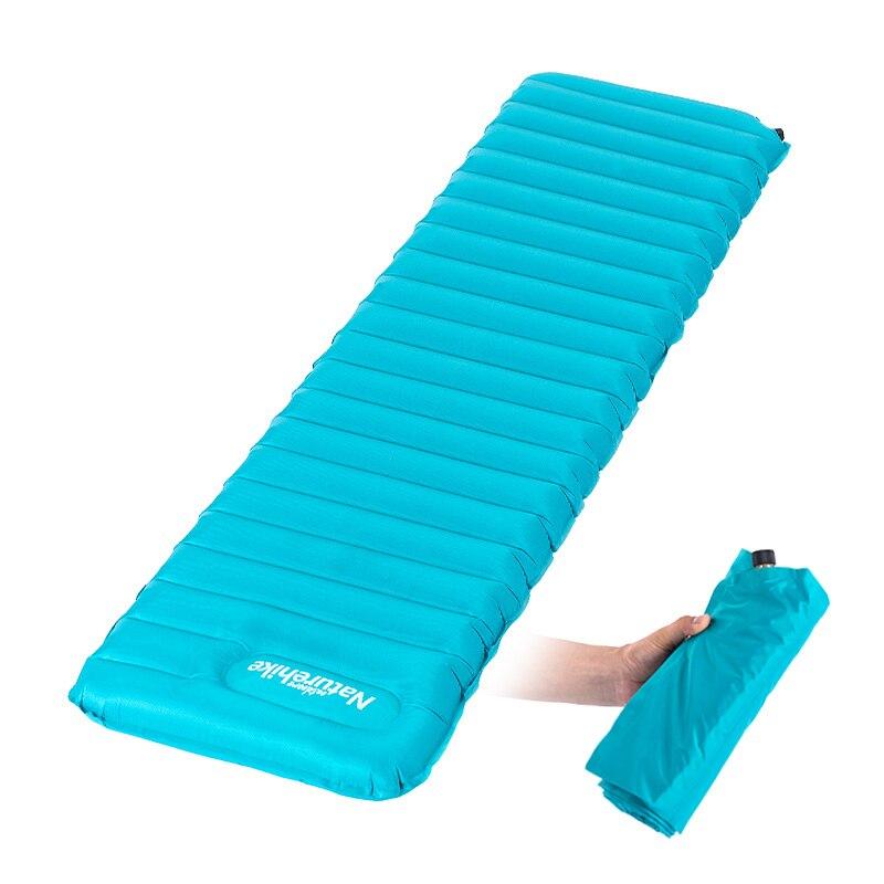 Naturehike font b Camping b font Moisture proof Pad Manually Inflatable Cushion Tent Mat Outdoor Air