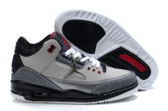 7801925f8fcb KFJ AIR US JORDAN 3 Man Basketball Shoes Katrina Charity Game Pure Black Cement  White Seoul Outdoor Sneakers Sport Sneaker 40-47
