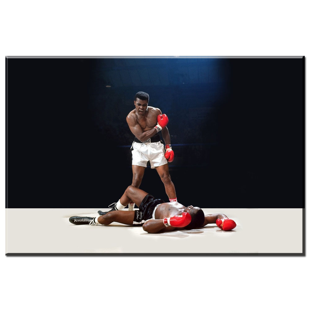 xdr360 Boxing Posters Muhammad Ali Poster Wall Pictures For Living Room Unframed Modular Pictures Home Decor HD Canvas Painting