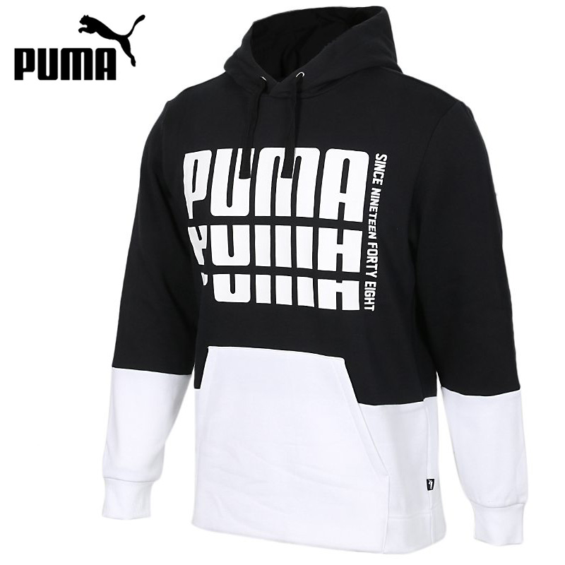 PUMA Boys Rebel Pull Over Hoodie