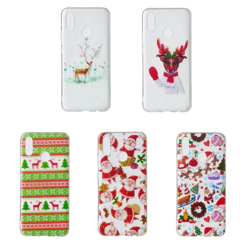 Kardeem Christmas Case For Huawei P20 Lite P20 Pro P Smart P9 P8 P10 Lite  Mate 20 Lite Y5 Y6 Nova 3I Honor 10 Honor 9 Lite