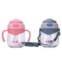 320ML Baby Water Feeding Bottle Tritan Children Learn Drinking Cup Kids Sports Water Bottle School Bottle Baby Drinker