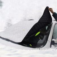 Nowy Przenośny Uniwersalny uchwyt Samochodowy Szyby Z Przodu Pokrywa Śnieżna Mróz Sun Shade Protector Dostarcza DXY88