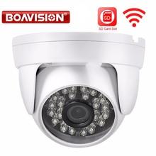 Boavision 720 P 960 P IP WI-FI Камера 1080 P ИК 20 м Ночное видение 3.6 мм объектив 1.0mp 2mp купол видеонаблюдения Беспроводной Камера P2P camhi