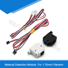 5PCS/LOT Material Detection Module 3D Printer Parts Mechanical Endstop Monitor Sensor Switch Accessorie For 1.75mm Filaments for endstop mechanical limit switches 3d printer switch with cable for ramps 1 4 cnc 3d printer accessories