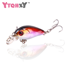 1PCS Winter Fishing Lures pesca Crankbait Fishing Tackle Swimbait jig 4.5cm 4.2g Japan Fishing Wobblers Fishing Lure YE-209Y