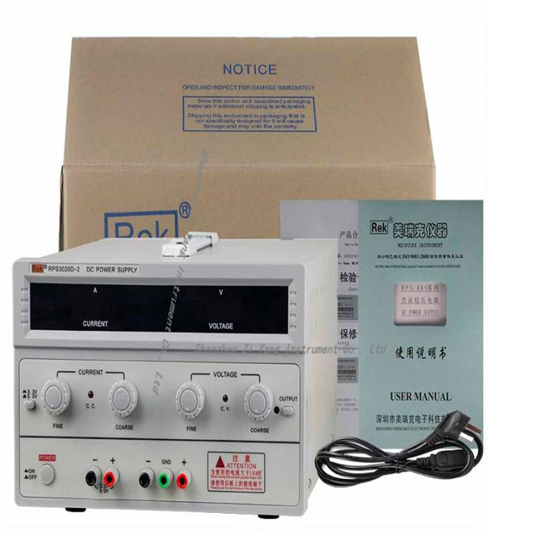 RPS3020D-2 digital DC power adjustable power 30V / 20A power supply linear power notebook maintenance dps3003 adjustable dc digital control power supply 12v24v high power mobile phone maintenance power suites dc depressurization m