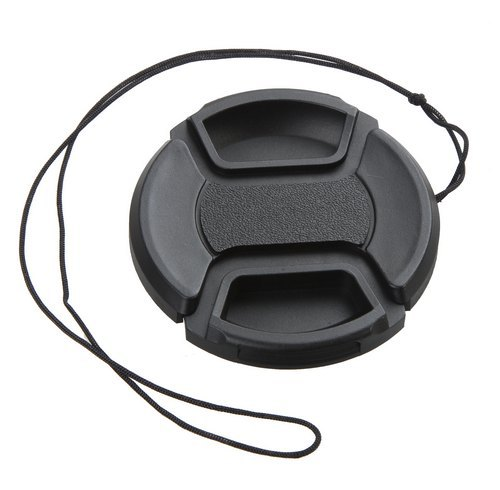 Camera Lens Cap 49mm Cover Keeper Holder for Sony E-mount 50mm f/1.8 OSS and 55-210mm f/4.5-6.3 OSS Lens image