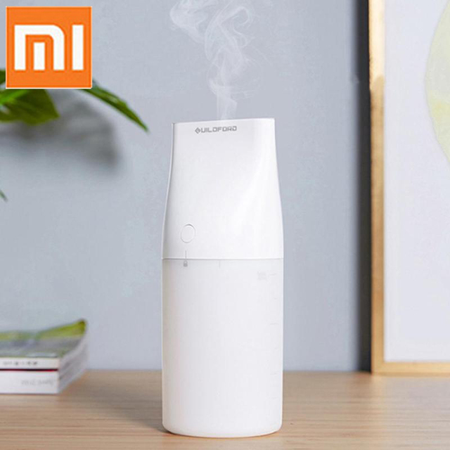 Xiaomi Guildford Desktop Air Humidifier 320ml Potable Quiet Humidifier Mist Maker Air Purifying with Night Light for Home Car