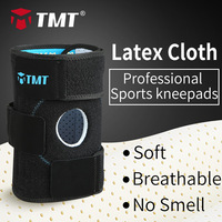 TMT basketball knee pads fitness knee brace Patella support volleyball Latex Cloth Breathable knee sleeve sports safety
