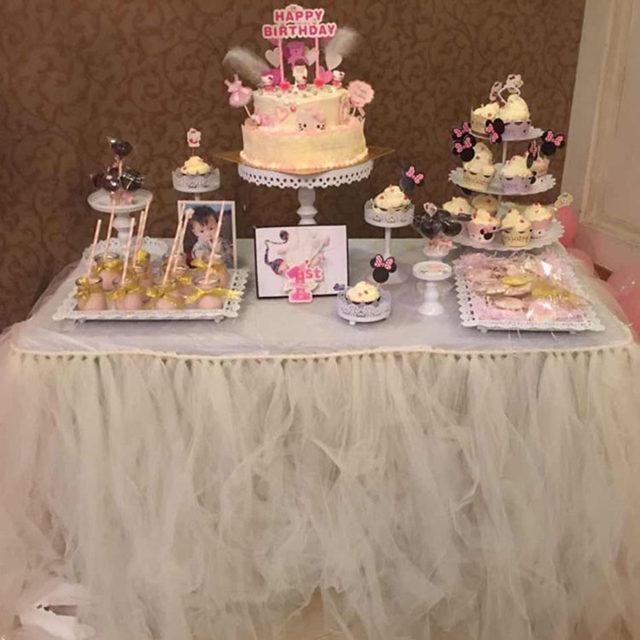 Online Shop Wedding Birthday Party Baptism Diy Tutu Fluffy Gauze