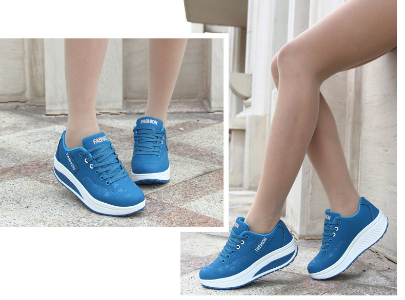 HTB1AGwGqL9TBuNjy0Fcq6zeiFXaJ Akexiya Fashion Women Height Increasing Summer Breathable Waterproof Wedges Sneakers Platform Shoes Woman Pu Leather Casual Shoe