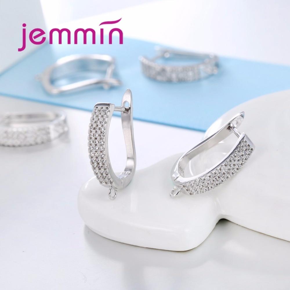 Jemmin Baru Kedatangan Penuh Batal Cubic Zirconia 925 Sterling Silver - Perhiasan bagus - Foto 2