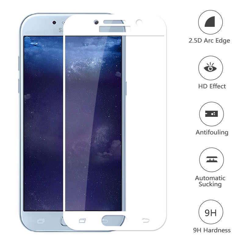 for Samsung Galaxy A5 2017 A520 Protection Glass Film Back Glass SM-A520F Protective Tempered Glass Ultra Thin Screen Protector