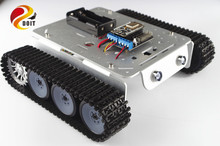 Official DOIT TP200 Crawler Tank chassis Robot Car Model Android Apple Mobile Phone Remote Control with free Source Code