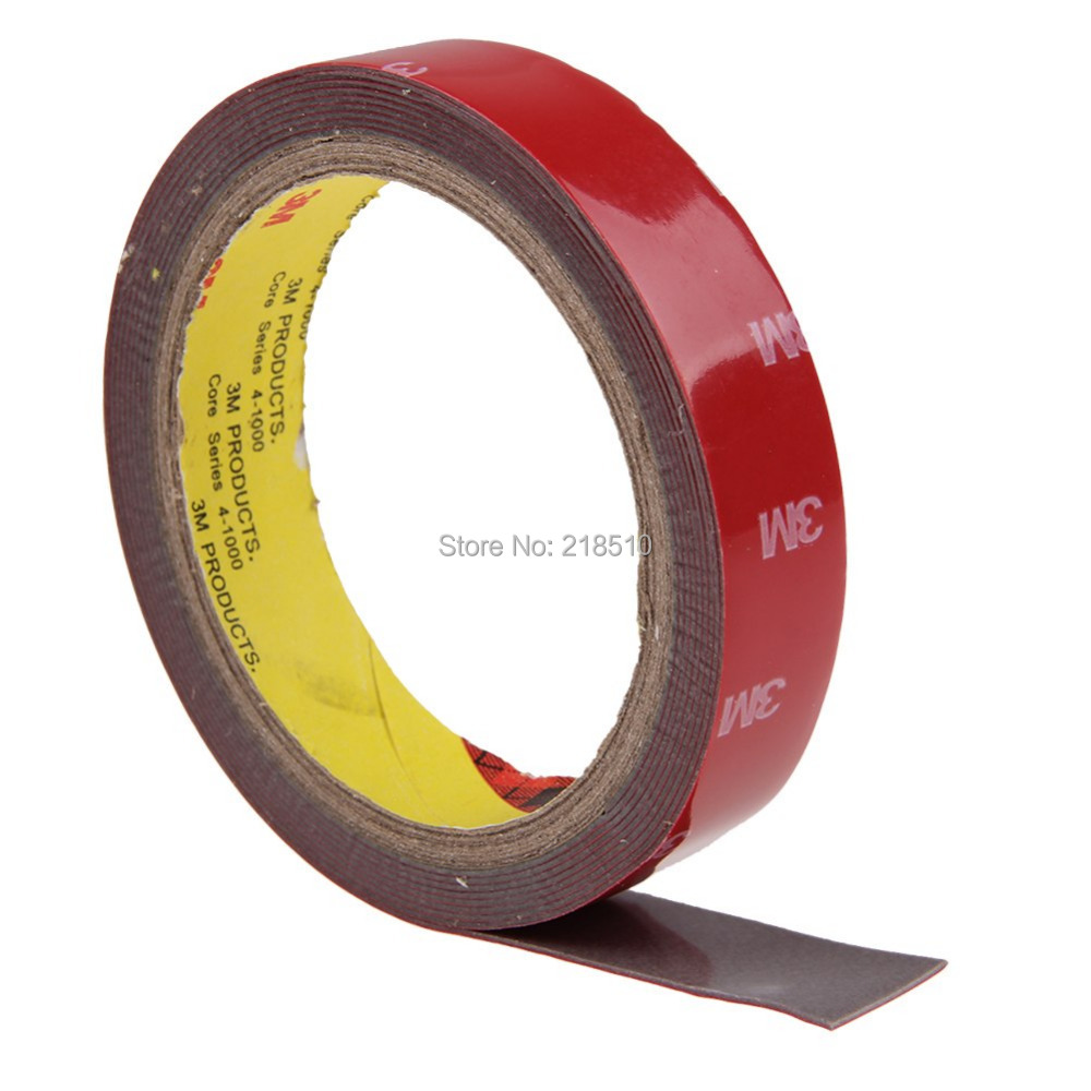 3m Tape 20mm Double Sided Sticker Acrylic Foam Adhesive