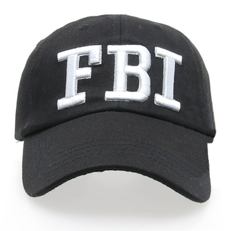 Snapback Hats For Men   FBI Casquette Sun Unisex Sport  Bone Hip Hop Baseball Cap  Mens Womens Gorras Adjustable Snapbacks