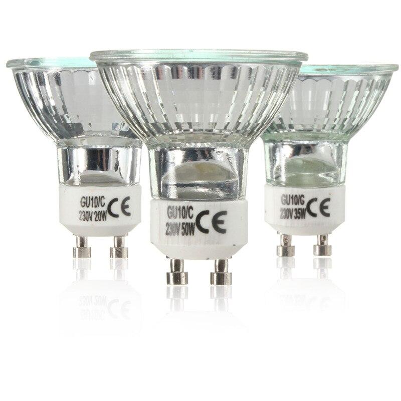 Mr16 12V 35W Watt Base Light Bulb Halogen Projector Socket Cup Cold Light PMA