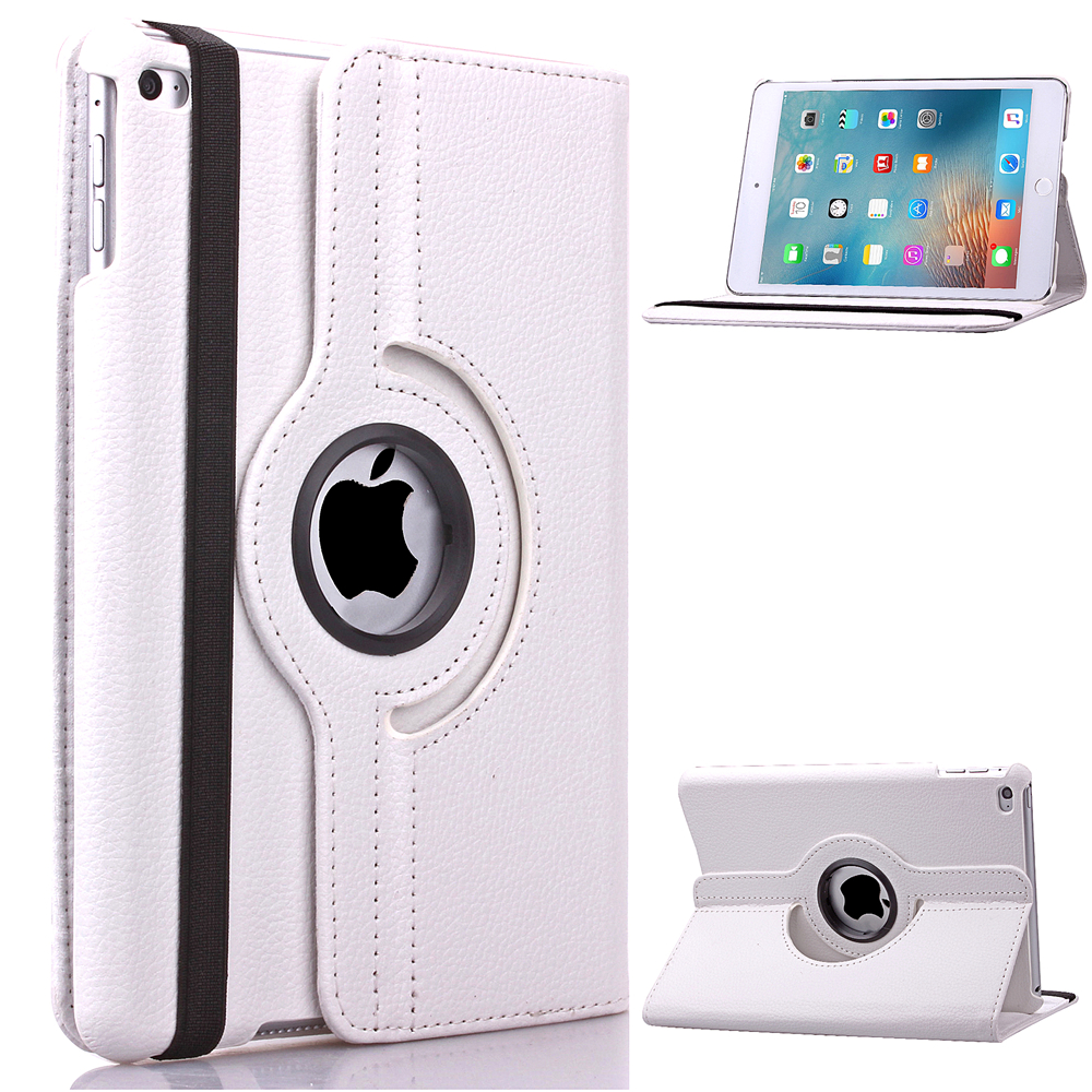цены  For ipad mini 360 Rotating PU Leather Case Cover Stand For Apple iPad mini 1 2 3 Premium Quality - Screen Protector & Stylus