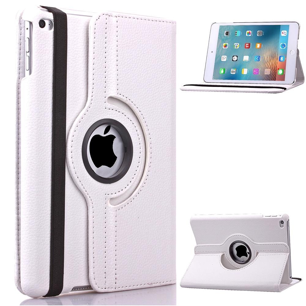 цены  For ipad mini 360 Rotating PU Leather Case Cover Stand For Apple iPad mini 1 2 3 Premium Quality - Screen Protector & Stylus