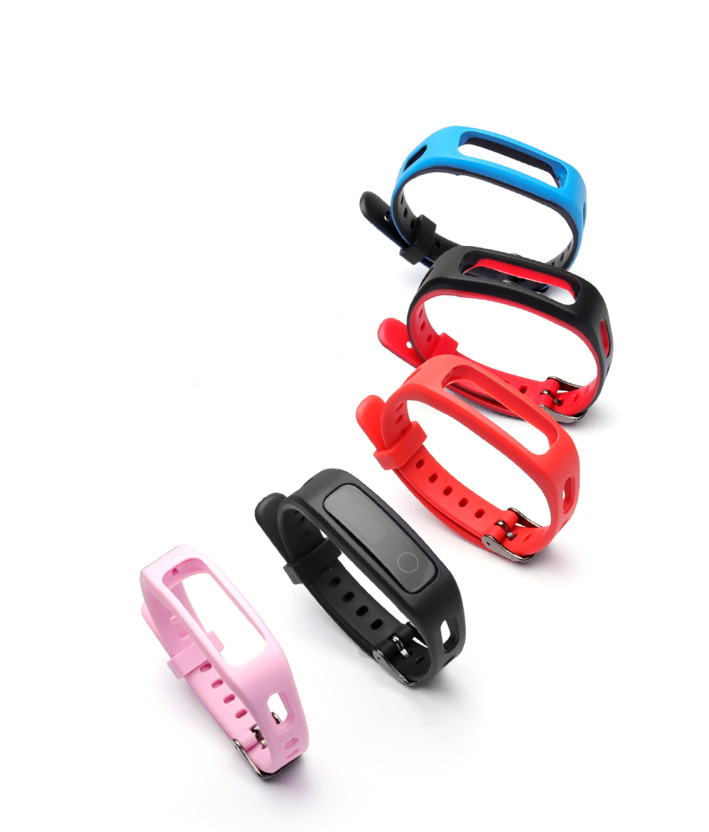 Умный спортивный ремешок для Honor Band 4 Running Edition/huawei band 3E силиконовый ярких цветов сменный ремешок