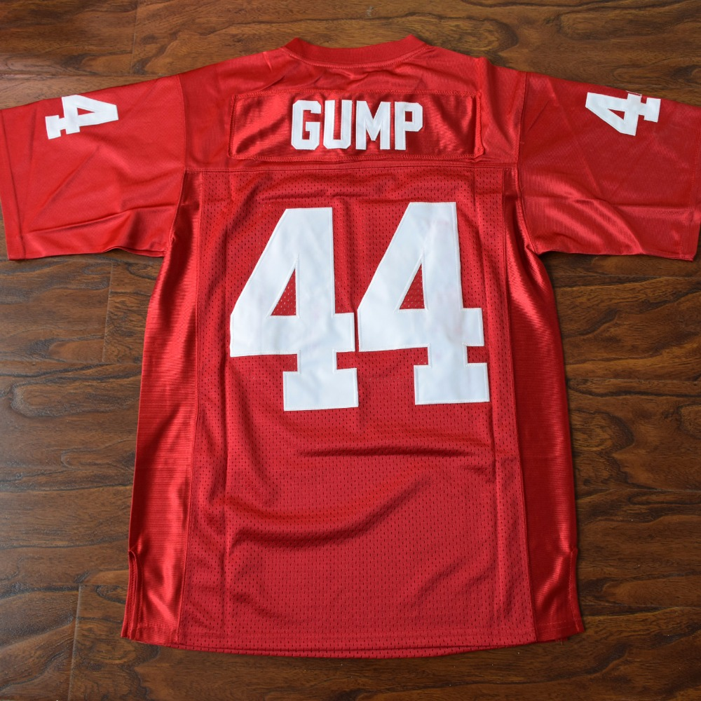 MM MASMIG Forrest Gump #44 Football Jersey Stitched Red