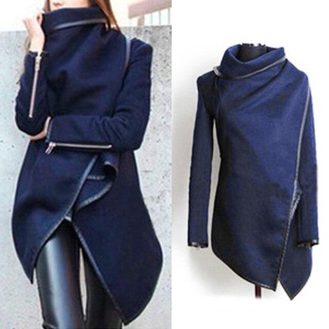 298171d22f162 2017 Autumn Winter New Fashion Brand Women Vintage Trench Coat Ladies  Designer Black Overcoat Waterproof Raincoat