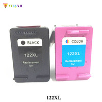 Vilaxh 122 xl Compatible Ink Cartridge Replacement for HP 122xl For Deskjet 1000 1050 1050A 1510 2050 2050A 3050 3050A Printer