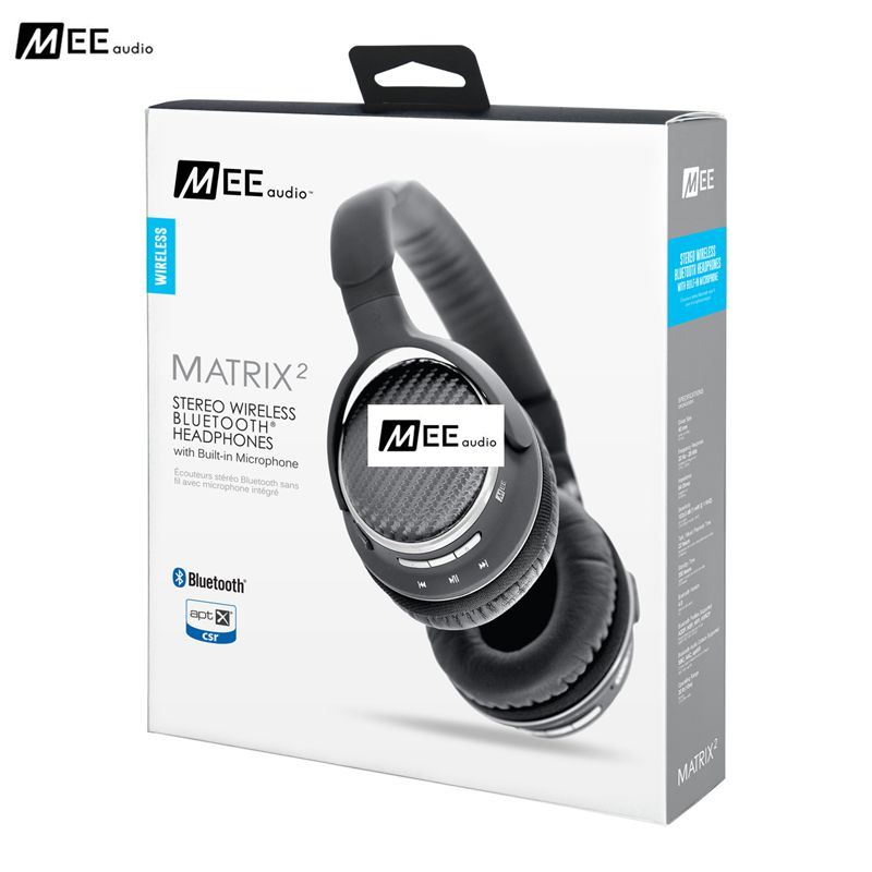 Original MEE Audio MATRIX AF Over ear Wireless Bluetooth Headset With Mic