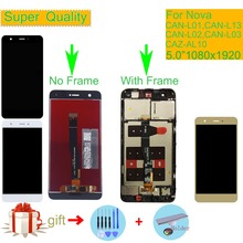 ORIGINAL For HUAWEI Nova LCD Display Touch Screen Digitizer Assembly With Frame CAN-L01 CAN-L13 CAN-L12 CAN-L02 CAZ-AL10 LCD 17 1inch lcd ccfl ltn170bt05 lp171wp4 n170c2 l01 b170pw03 b170pw06 lp171wx2 ltn170x2 ltn170x02 l02 1440 900 laptop screen