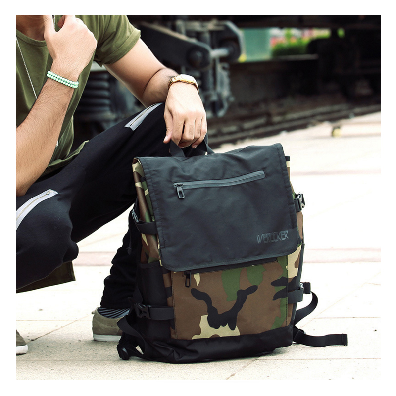 37daf0c8523 Best buy 2017 Men Male Canvas Backpack College Student School Backpack Bags  for Teenagers Vintage Mochila Casual Rucksack Travel Daypack online cheap