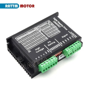 Image 3 - Ab 4 adet DM556D 50VDC 5.6A 256 microstep yüksek performanslı dijital NEMA17/23 step motor sürücüsü