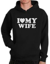 I Heart My Wife Hoodie Couple Shirts Valentines Day Wedding Spouse Gift Hoody Unique Sweatshirt Funny Unisex Hoodie-Z120