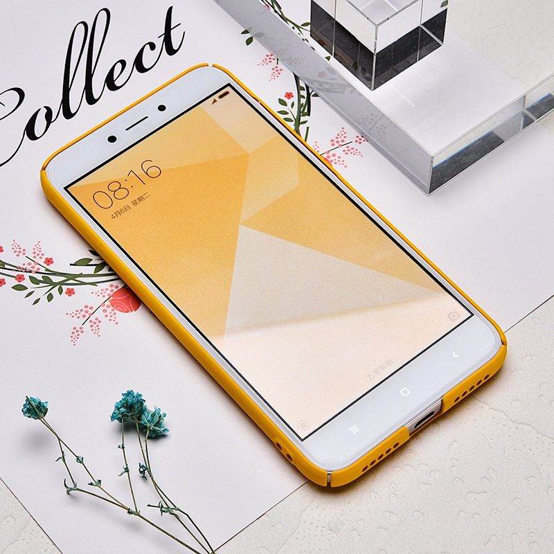 TOMKAS Cute PC Case For Xiaomi Redmi 4X Note 4X Mi A1 Cases Cover Back Patterned Matte Phone Case For Redmi 4X 5.0 Inch (3)