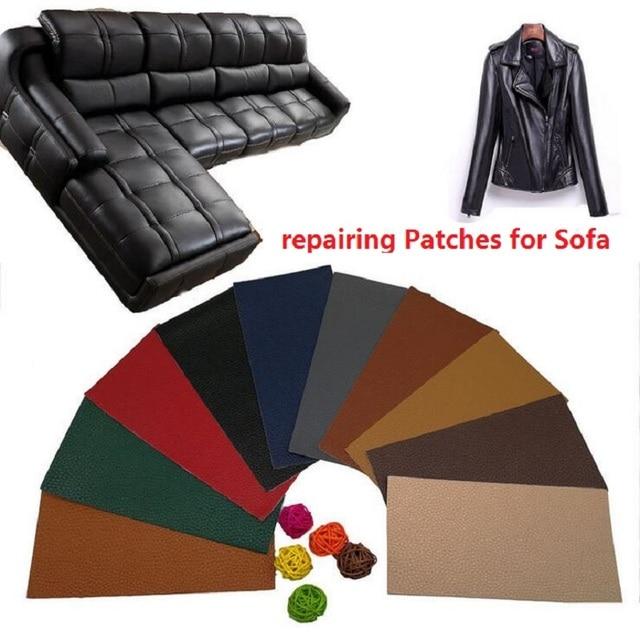 Ps001 10x20cm Self Adhesive Stick On No Ironing Sofa Repairing