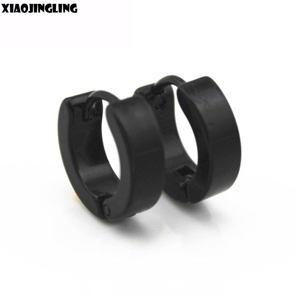 9 Kinds Janpanese/ Korea Fashion Jewelry Stainless Steel  Retro Gothic Rock Punk Spike Stud Earrings For Men Women Gay