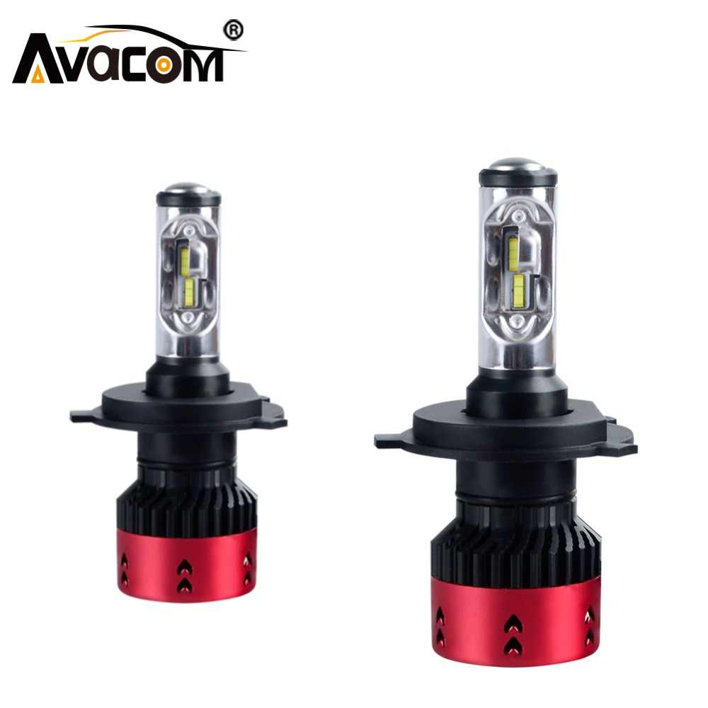 Avacom LED H7 H4 16000lm 12V Auto Bulbs H1 H3 H11/H8 LED Lamp H15 9005/HB3 9006/HB4 HIR2 ZES Chip 6500K 70W 24V Car Headlights