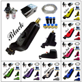 Solong Tattoo Neuma Style Pneumatic Rotary Tattoo Machine Gun Kit Purple color M665KIT