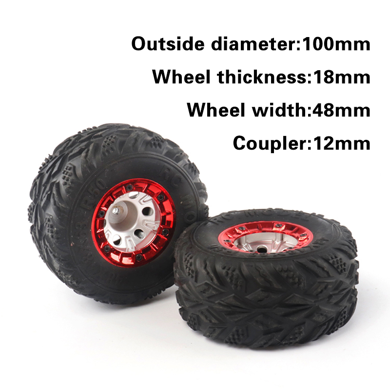 1/12 Feiyue FY01/02/03/04/05 Wltoys 12428/12423 high speed vehicle wheel tires bigfoot car remote control model offload car part