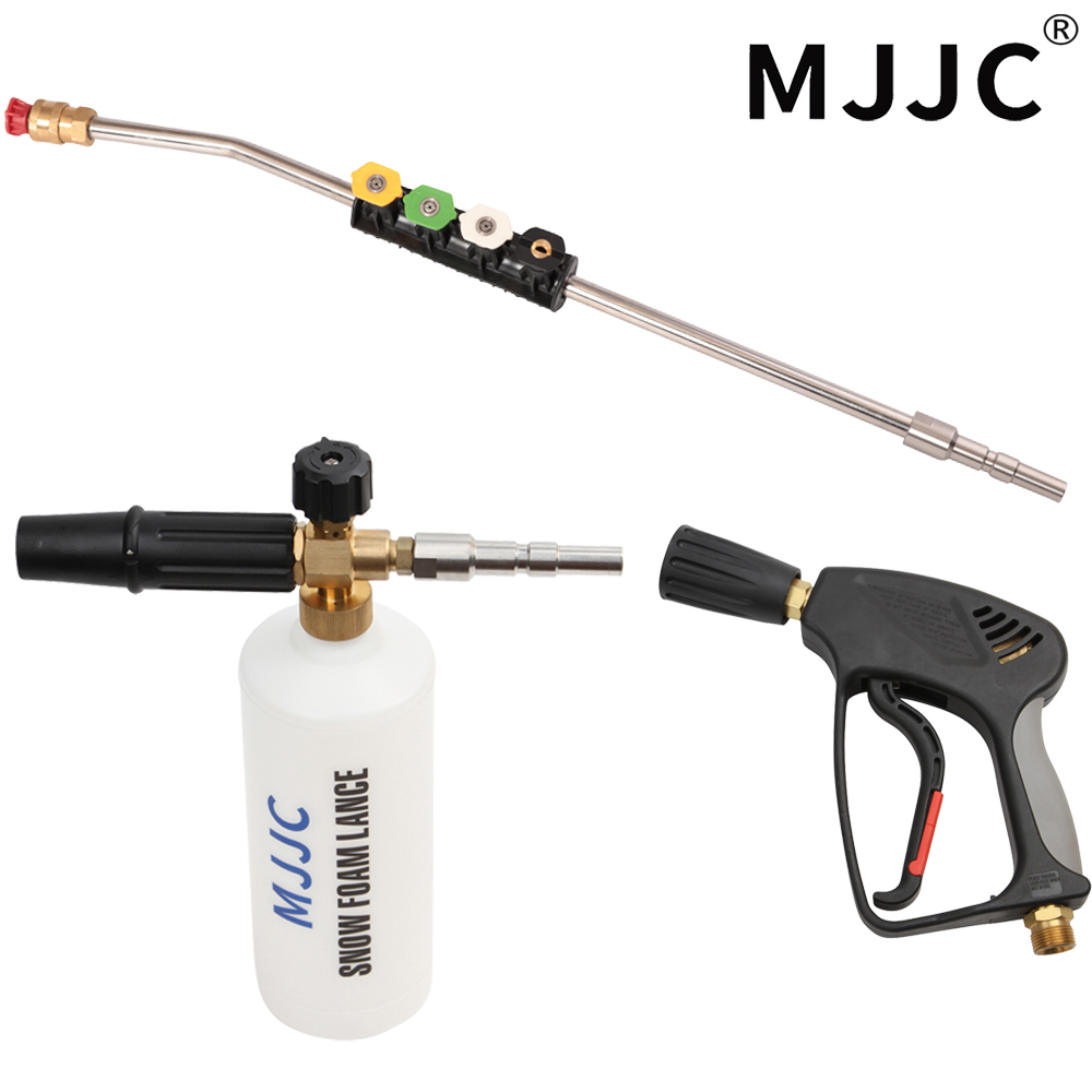 MJJC Brand High Pressure Washer Gun Wand Foam Gun Kit for Nilfisk kew wap IPC Professional