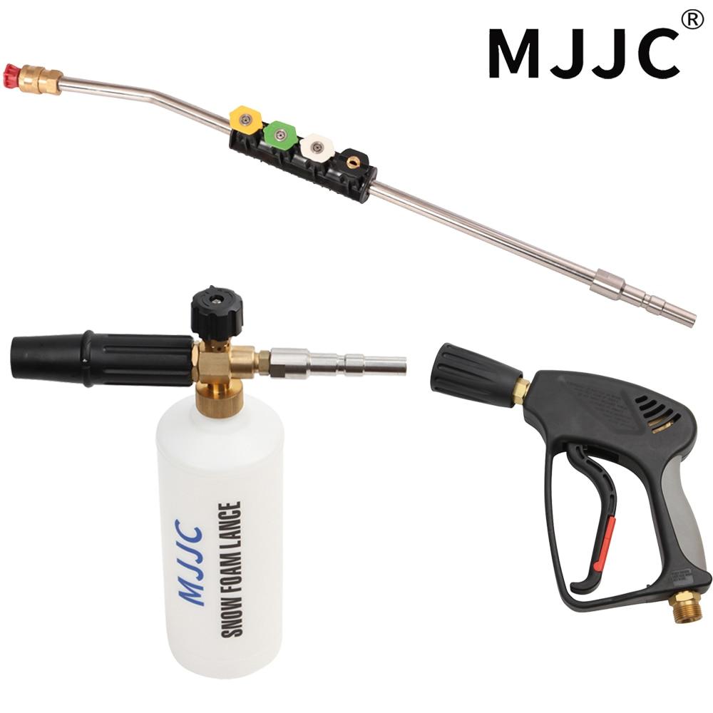 MJJC Brand High Pressure Washer Gun, Wand, Foam Gun Kit for Nilfisk/kew//wap/IPC Professional Quick Connection Car Washers