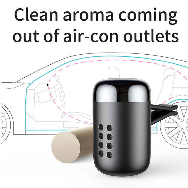 Baseus Mini Aromatherapy Car Air Vent Air Freshener Fragrance